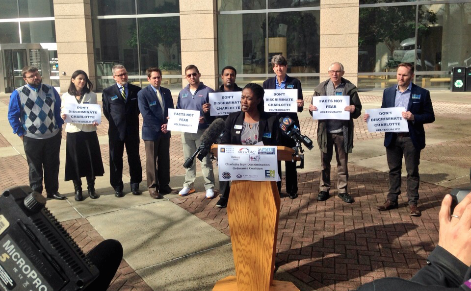 Leaders want trans education, begin renewed push for Charlotte non-discrimination ordinance
