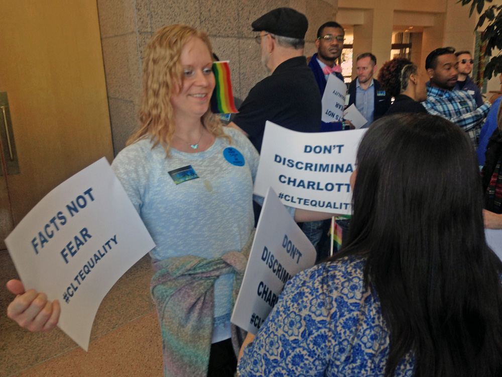 Charlotte City Council to take up LGBT non-discrimination ordinances in February